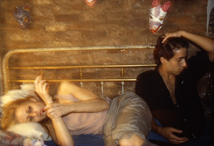 """Greer and Robert"" (1982), de Nan Goldin"