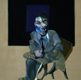 "Francis Bacon, ""Self portrait"", 1972 (detalle)"