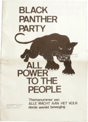 "H. de Looze, ""Black Panther Party: All Power to the People"", 1970"